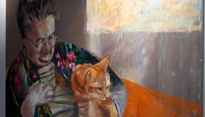 koty, dwie prace Pauliny Troncik