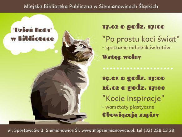 dzień kota w siemianowicach slaskich 2020