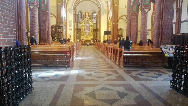 Msza w kościele pw. św. Michała Archanioła