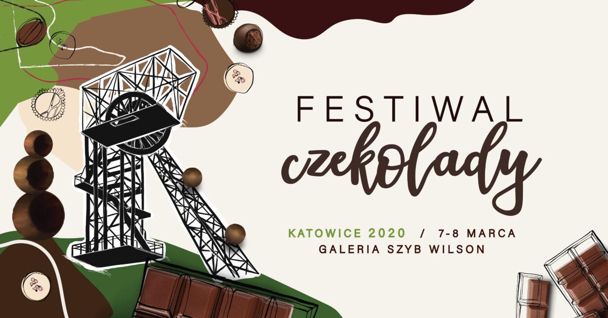 Festiwal czekolady Katowice Nikiszowiec2020 plakat