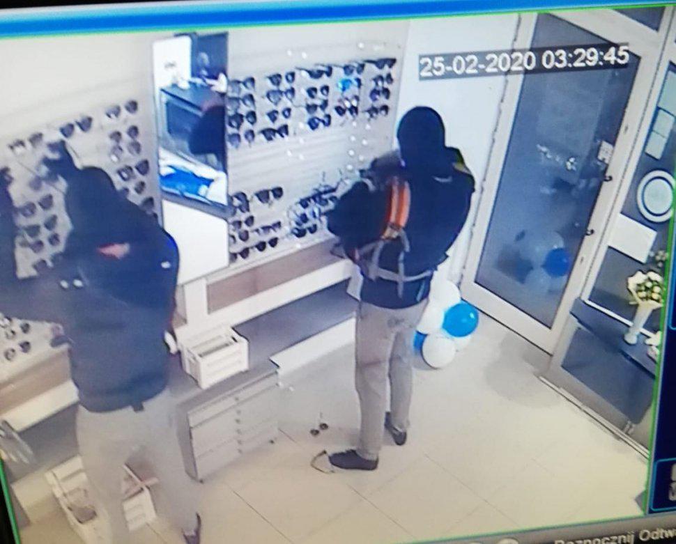 złapać złodzieja zdjęcie z monitoringu siemianowice