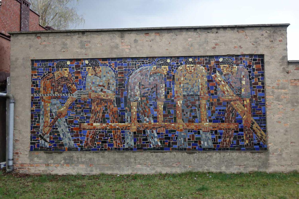mozaika plastyk kopalni Michał