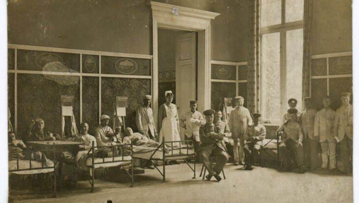 Szpitale rezerwowe w Siemianowicach [Kartka z przeszłości]