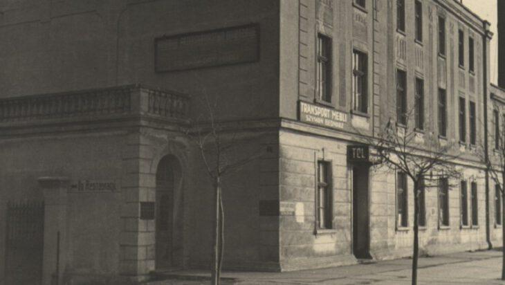 Budynek w którym mieściła się czytelnia