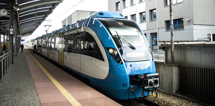 Pociąg do Siemianowic Śląskich