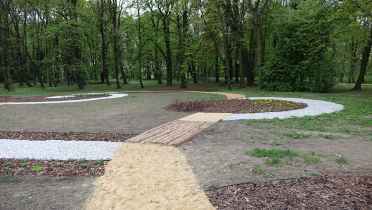Zmysłowy ogród w siemianowickim Parku Górnik