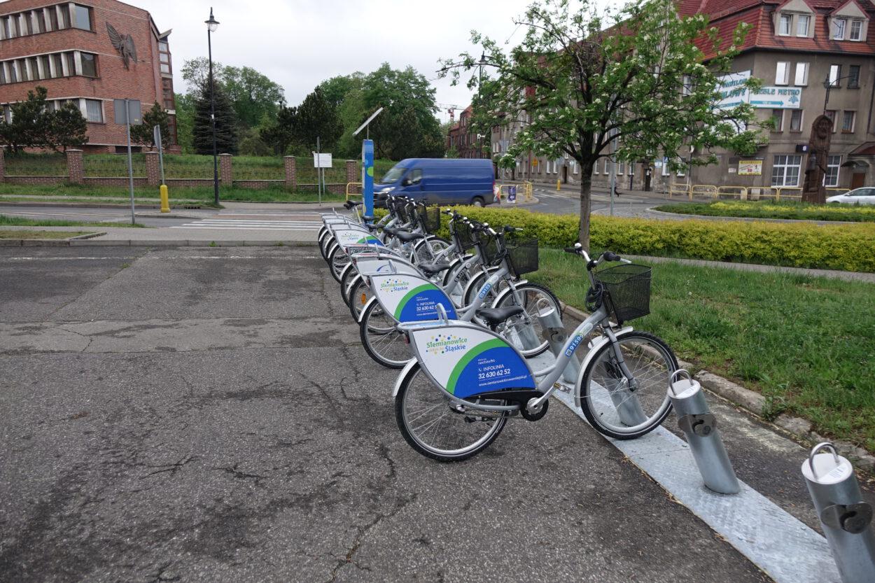 Siemianowicki rower miejski czyli miasto dopłaca 30 zł do każdego roweru
