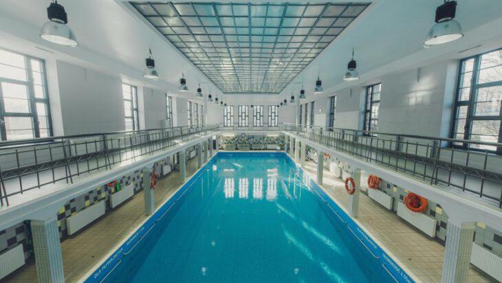 Siemianowice - Zabytkowa Pływalnia Miejska