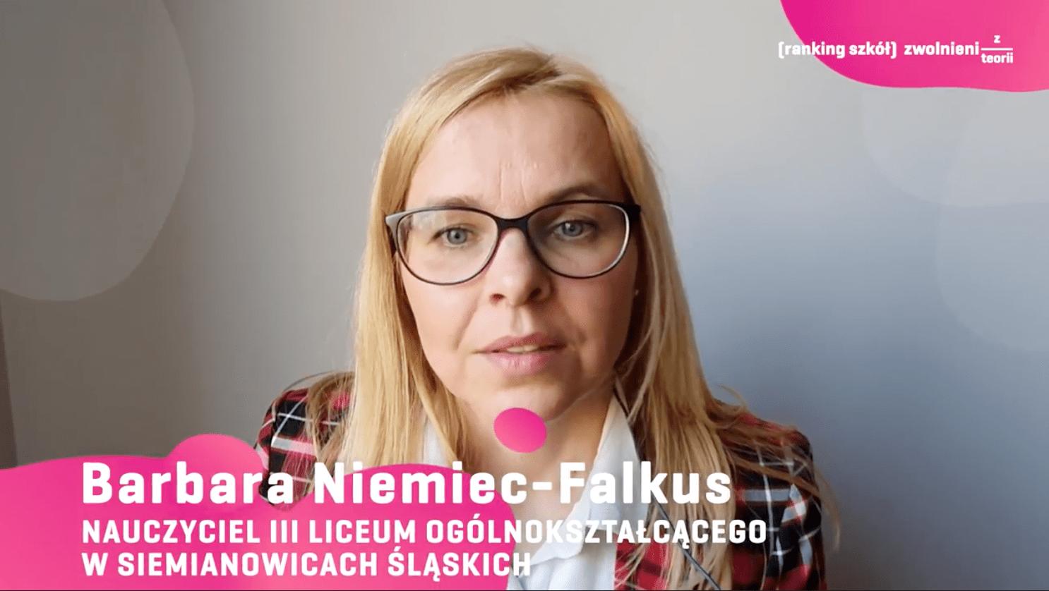 Barbara Niemiec-Falkus III LO Siemianowice Śląskie
