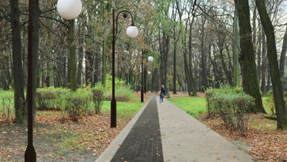 Park Górnik piękny i nowoczesny
