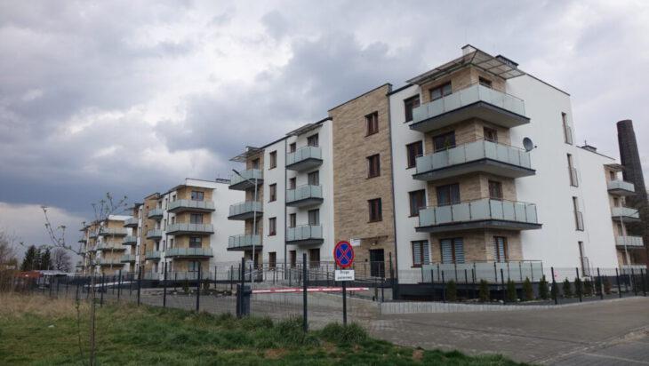 2. Budownictwo mieszkaniowe realizują obecnie tylko developerzy. Na zdj. Osiedle w Michałkowicach