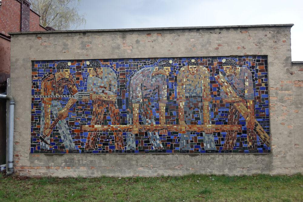 Mozaika przy ul. E. Orzeszkowej
