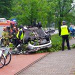 1. Zdjęcie wykonane tuż po wypadku
