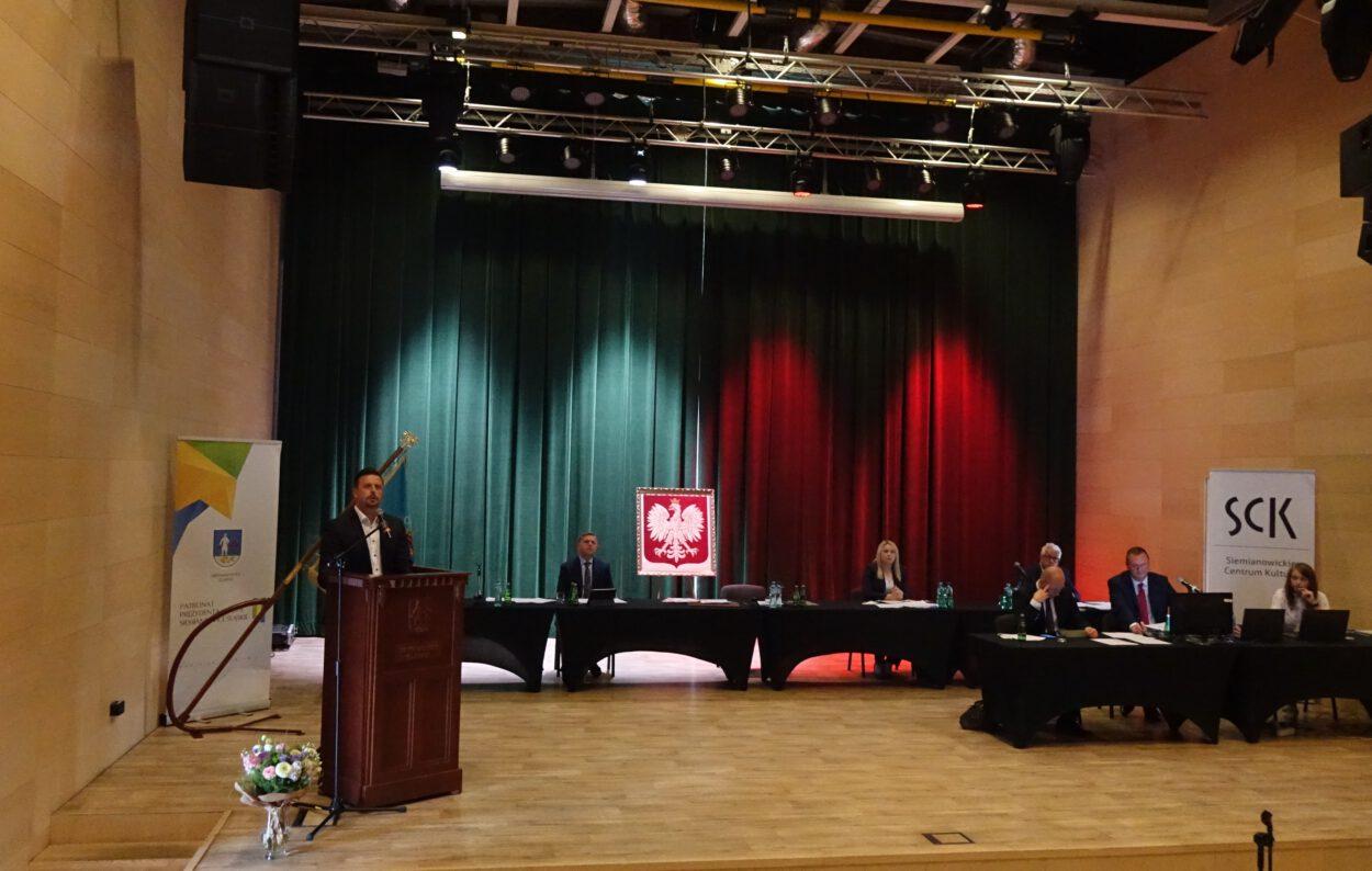 sesja rady miasta siemianowice