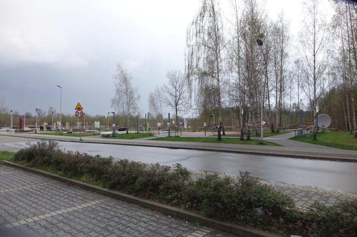 Siemianowice - plac zabaw