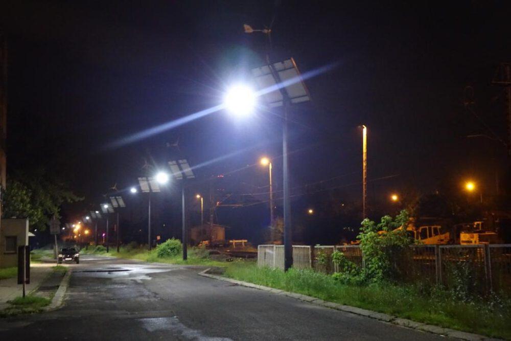Nowe lampy w siemianowicach