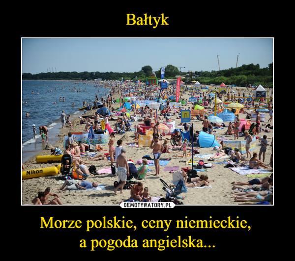 dokąd na urlop polskie morze