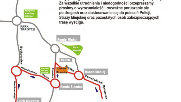 Tour de Pologne w Siemianowicach [Będą zamknięte ulice i zmiany w komunikacji publicznej]