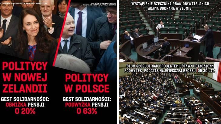 sejm przegłosował podwyżki wynagrodzeń posłów