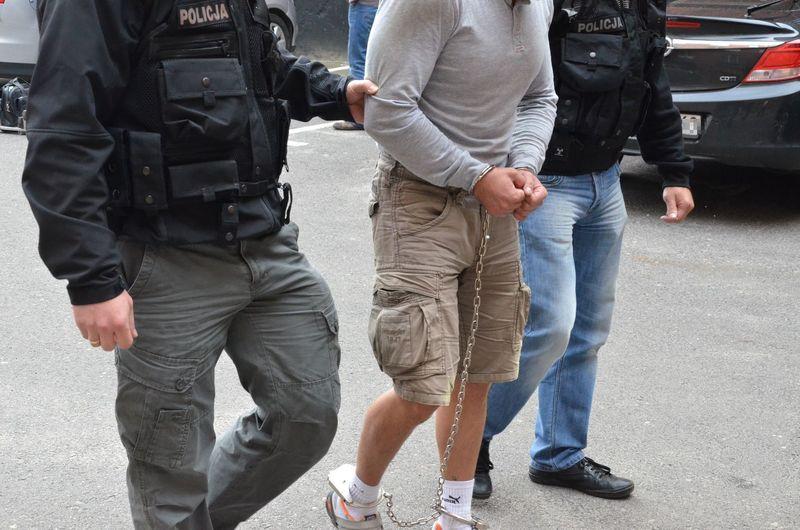 25 latek zatrzymany za gwalt