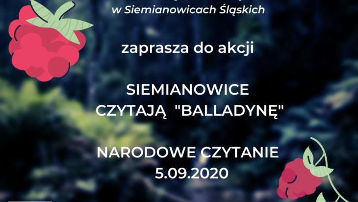 BalladynaJuliusza Słowackiego lekturą Narodowego Czytania