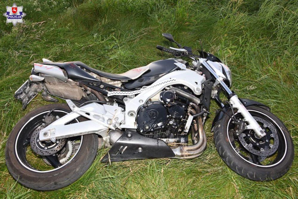siemianowice wypadek motocykla kawasaki