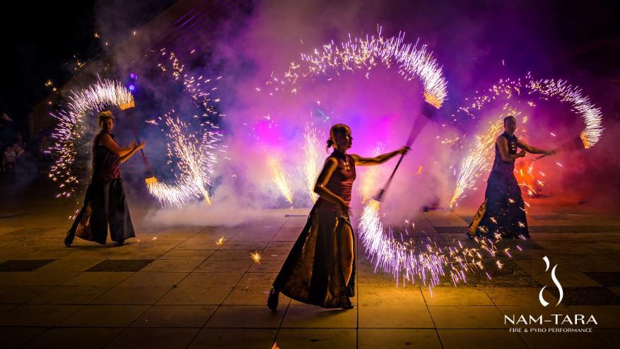 spektakl ognia siemianowice nam-tara