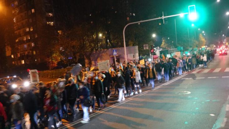 Siemianowice: Gniew i moc [#StrajkKobiet w Centrum]