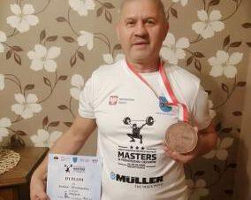 Siemianowicki siłacz Leszek Winiarski spisał się na medal !!!