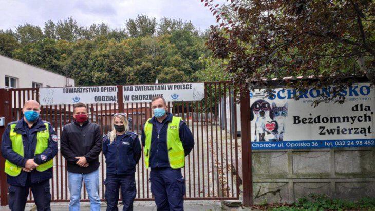 Siemianowice: Policjanci zadbają o zwierzęta ze schroniska w Chorzowie