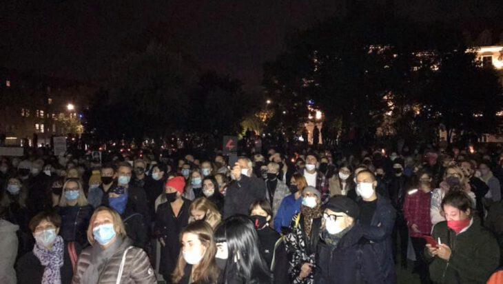 Siemianowice: Protesty i maseczki