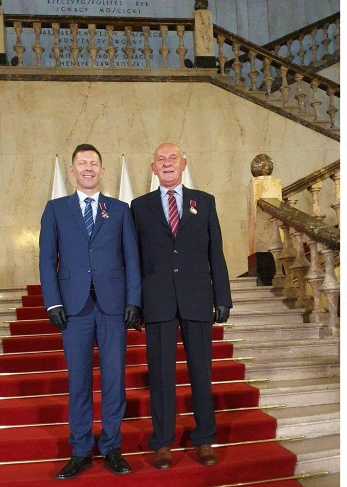 Zbigniew Kołodziejski i Arkadiusz Stanula WOPR Siemianowice