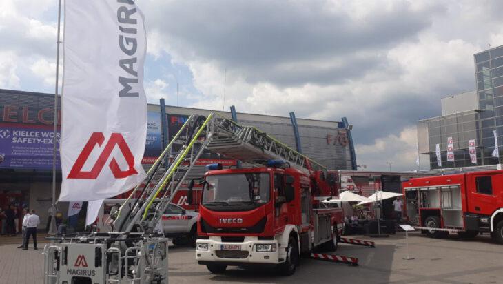 Drabina pożarnicza Magirus M42L-AS dla KM PSP Siemianowice Śląskie