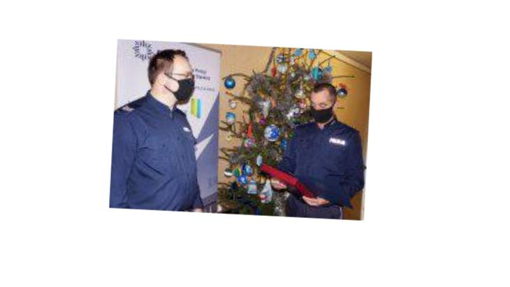 Minister docenił policjanta z Siemianowic