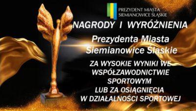 Wnioski o nagrody i wyróżnienia sportowe do końca roku!