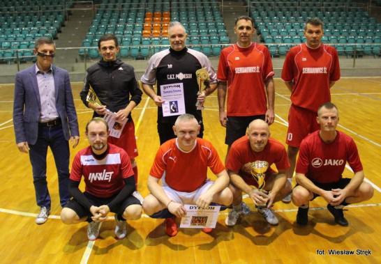 Siemianowice: Nauczyciele / Straż Miejska wygrali Barbórkowy Turniej Piłkarski