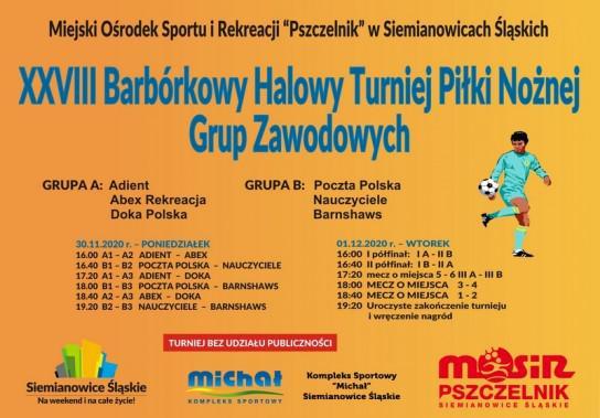 XXVIII Barbórkowy Turniej Piłkarski wystartował