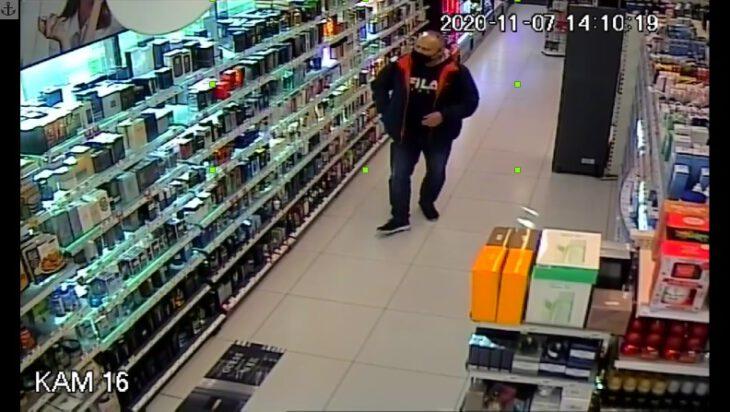 Policja poszukuje złodzieja