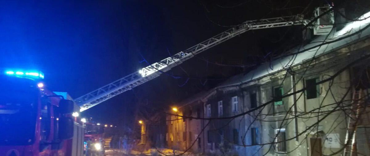 pożar ulica chopina siemianowice