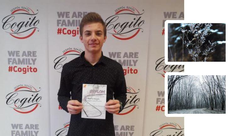 Martin Kalyta - uczeń ZS Cogito