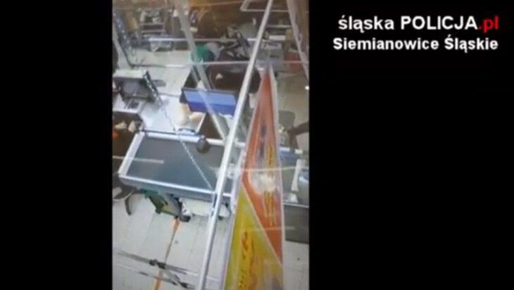 Siemianowice: Poszukiwany mężczyzna, który przywłaszczył portfel w Carrefourze [video]