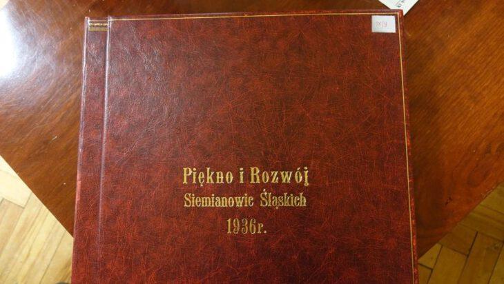 okładka albumu Piękno i rozwój Siemianowic Śląskich