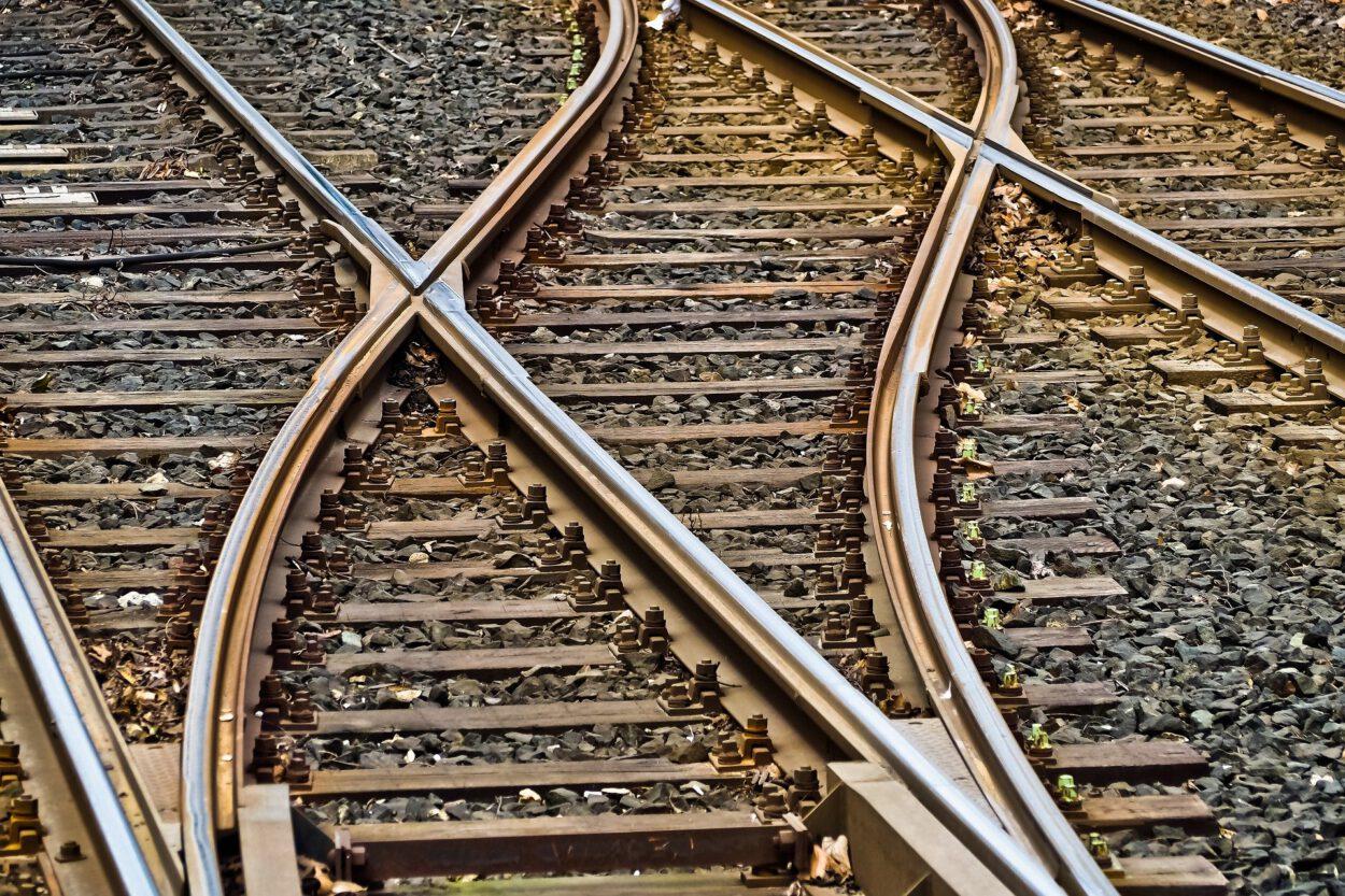 tory kolejowe na śląsku marzec 2021