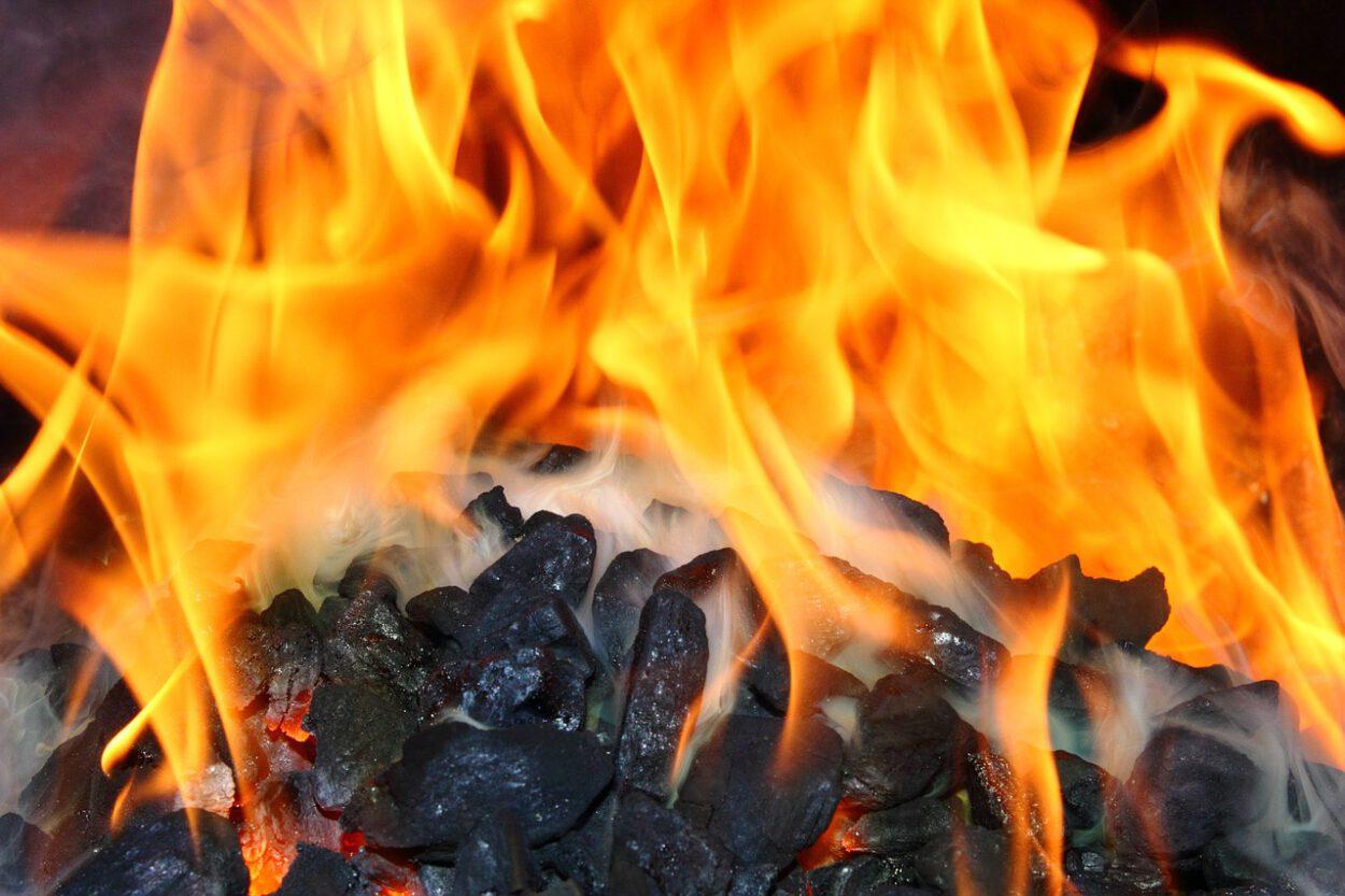 węgiel płonie piec do wymiany śląskie siemianowice