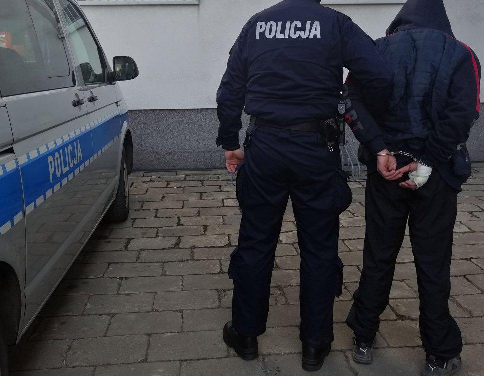 złodziej zatrzymany w siemianowice