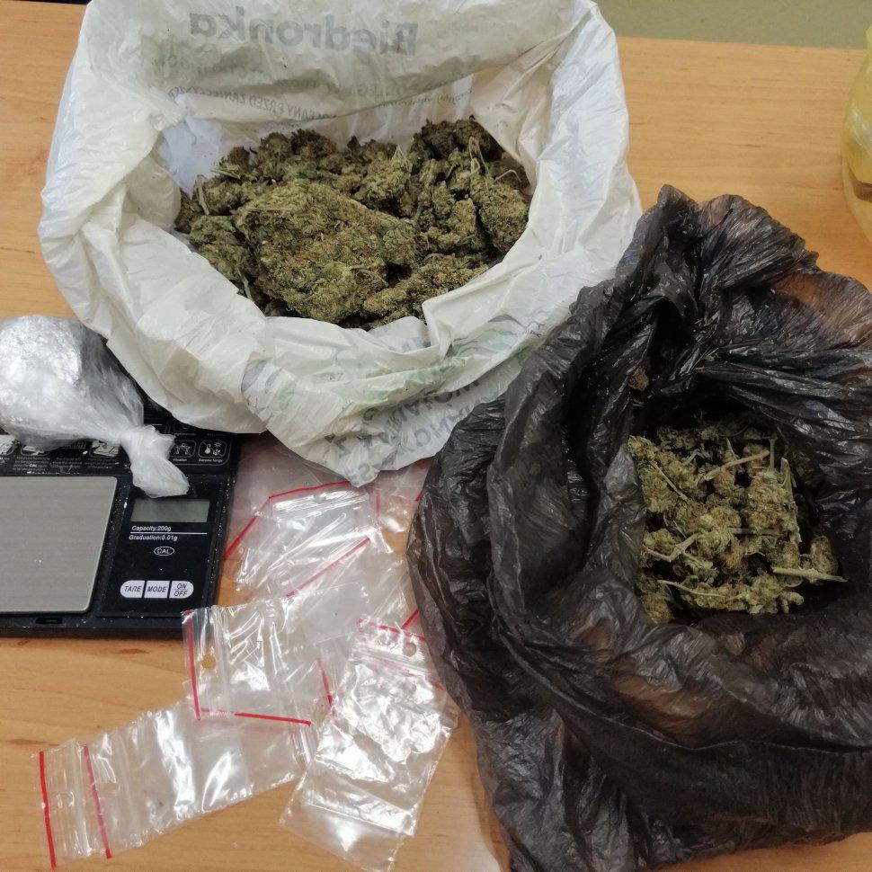 amfetamina i susz marihuany w siemianowicach