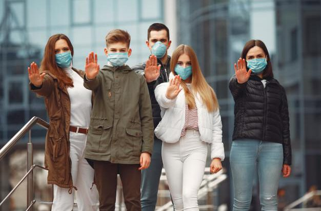Weź maseczkę, noś maseczkę, powstrzymaj pandemię !