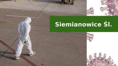 Siemianowicki bilans pandemii koronawirusa