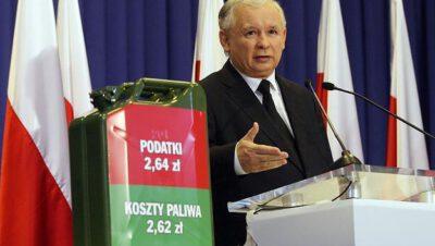 [Ceny paliw] Sorry, ale takiego mamy prezesa, premiera i Obajtka.