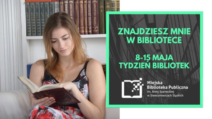 Siemianowice. Tydzień Bibliotek zapowiada się ciekawie i atrakcyjnie